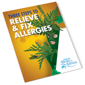 Three steps to relieve and fix allergies resource guide